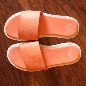 Dr. Martens Cierra II Peach Women Slides Sandals
